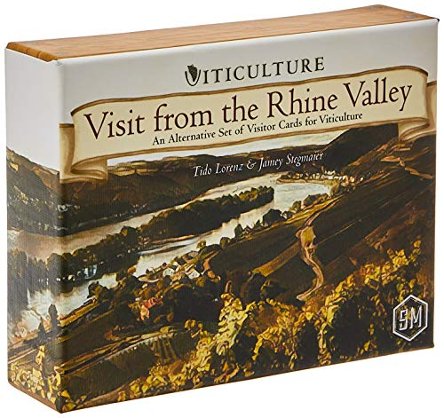 Stonemaier Games Viticulture: Visit from The Rhine Valley - English