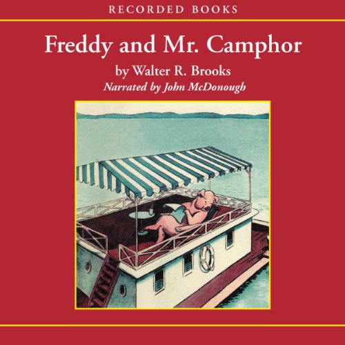 Freddy and Mr. Camphor audiobook cover art
