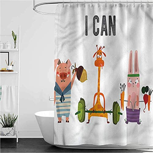 Bathroom Shower Curtain Kaffee Zucker Cupcakes Schokolade Badewannen Duschvorhang Decorative Bathroom Accessories 150*180Cm Top Qualität Wasserdicht, Anti-Schimmel-Effekt 3D Digitaldruck Inkl. 12