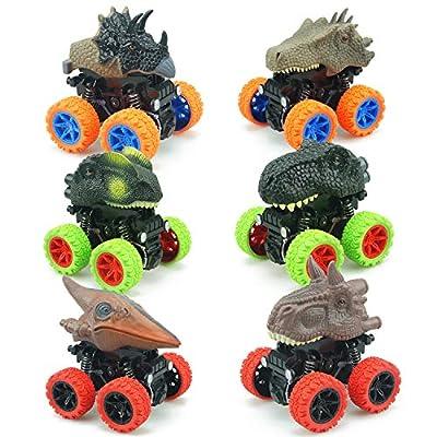 XINSHI Kids Dinosaur Cars Toys Dino Pullback Inertia 19022021120813
