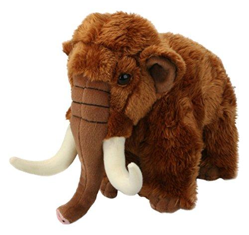 Living Nature Stofftier - Großes Fellmammut (22cm)