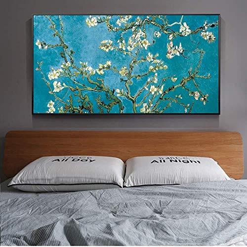 MAANINE Mandel Blume Leinwand Auf Malerei Wandkunst Einzel Gemälde Für Wohnzimmer Wand Leinwand Poster Kein Rahmen 60 * 90 cm