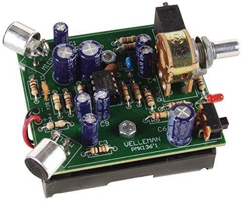 Velleman MK136 Mini-kit stereo-geluidsversterker bouwset gemengd