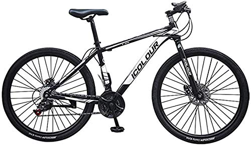 Mountain Bike for Men Land Rover 26 Inch with 24 Speed Bicycle Full Suspension MTB 100cm*85cm*35cm,Black