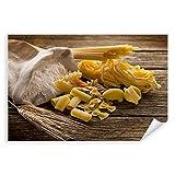 Postereck - 0113 - Nudeln, Weizen Mehl Küche Pasta Kochen