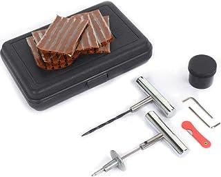 Qiilu Kit de Reparación de Neumáticos Kit de Reparación