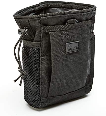 WOLF TACTICAL Drawstring MOLLE Dump Pouch EDC Drop Bag for Ammo Magazines Range Shooting Hunting product image