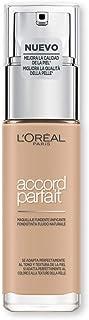 L'Oréal Paris MakeUp Fondotinta Accord Parfait, Effetto Naturale, Arricchito con Acido Ialuronico, 2.N Vanille/Vanilla, 30...