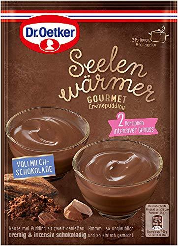 Dr. Oetker Seelenwärmer Gourmet Vollmilch Schokolade, 18er Pack (18 x 90 g)