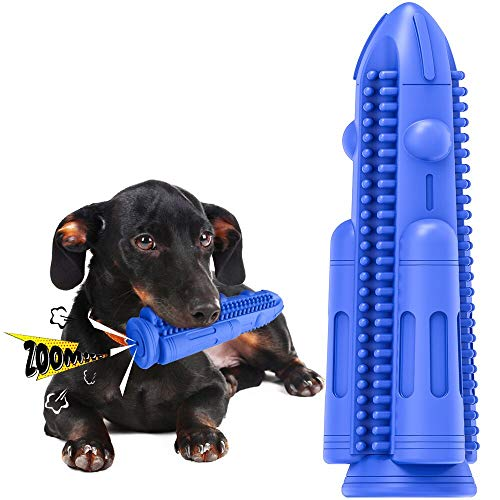 Dog Toothbrush Toy for Teeth Cleaning, Dog Chew Toy for Dental Care, Interactive Dog Toys to Relieve...