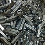 2-5PCS acero con zinc M3 M4 M5 M6 M8 M10 M12 Tuerca hexagonal de...