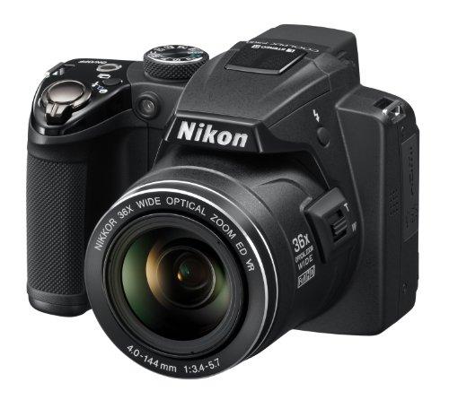 Nikon Coolpix P500 Digitalkamera (12 Megapixel, 36-fach opt. Zoom, 7,5 cm (3 Zoll) Bildschirm, Full-HD Video, bildstabilisiert) schwarz