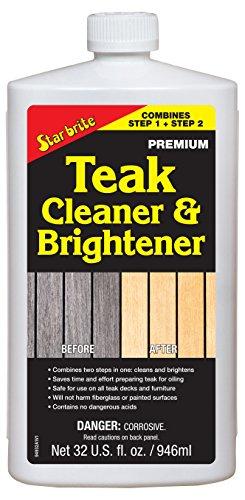 Star brite One Step Teak Cleaner & Brightener 32 ounce