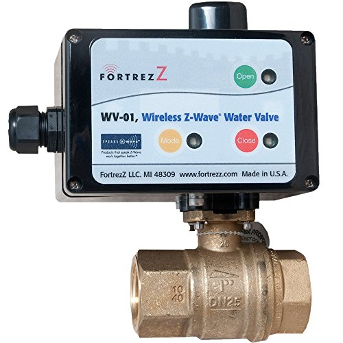 Wireless Z-Wave Water Valve