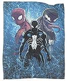 Coobal Spiderman vs Venom Fashion Blanket Soft Lightweight Blanket for All Season 40x50