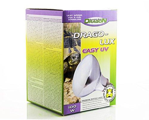 Dragon - Drago-LUX UV-Strahler- E27 Gewinde - mit sehr hohen UVA & UVB Anteil (100W)