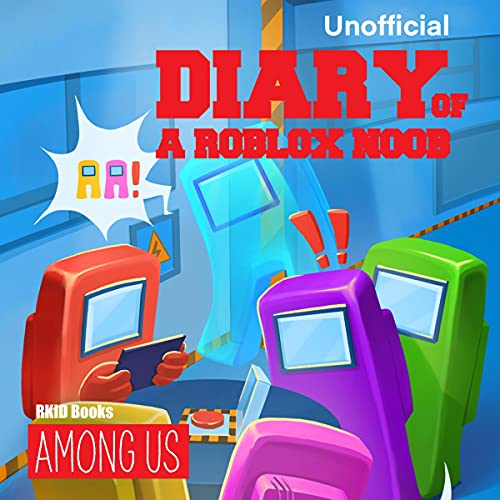 Diary of a Roblox Noob: Among Us cover art