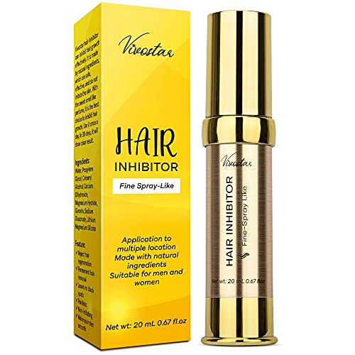 Hair Inhibitor, Painless Hair Growth Stop Spray, Hair Removal Spray, Non-Irritating Hair Removal...