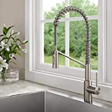 Kraus KPF-2631SFS Oletto Single Handle Pull Down Commercial Kitchen Faucet, Spot Free Stainless Steel