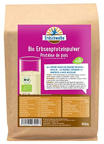 Erdschwalbe -   Bio Erbsenprotein -