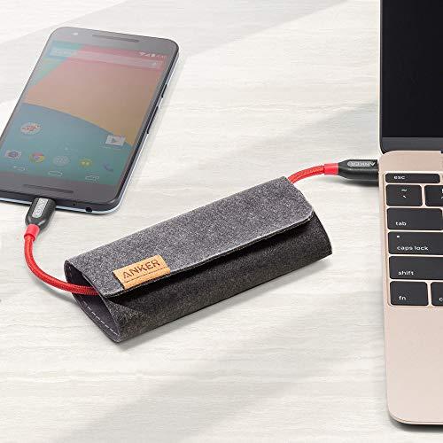 Anker Powerline+ 1,8m USB C Kabel, Extrem Langlebig für USB-C Geräte Inklusive Galaxy S8, S8+, iPad Pro 2020,Google Pixel, Nexus 6P, Huawei Matebook, MacBook usw