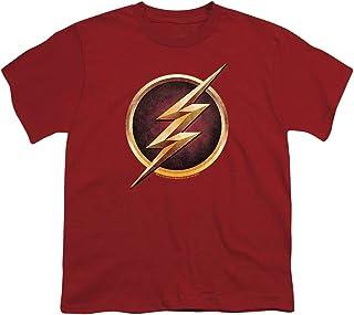 DC Comics The Flash Logo - CW`s The Flash TV Show Youth T-Shirt