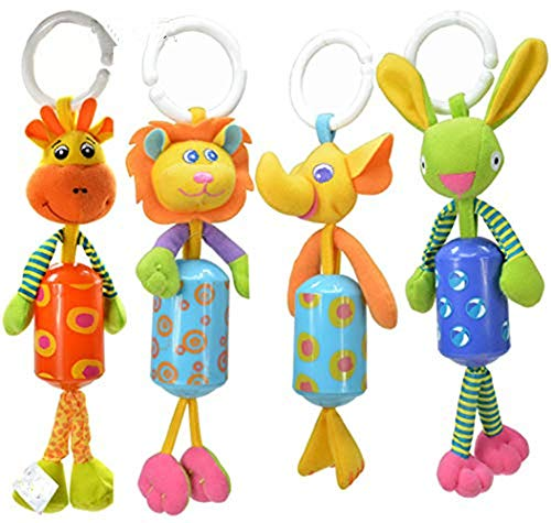XYAO Dolls Pram, Colorful Pendant Dolls Hanging On The Car, Beside The Crib, On The Stroller, Suitable For Babies Over 6 Months Old