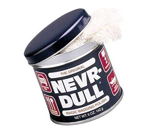 NEVR-DULL METALL-HOCHGLANZ-POLIERWATTE, ohne Schleifmittel