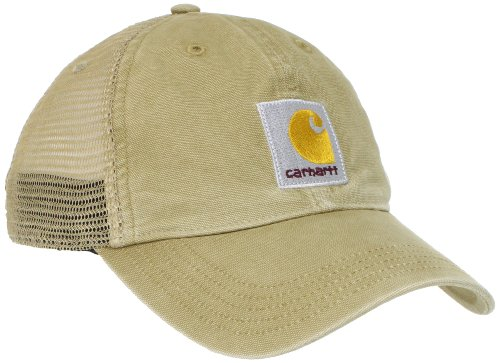 Carhartt Men's Buffalo Cap,Dark Khaki,OFA, One size