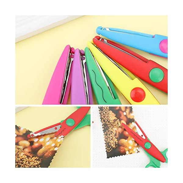 Angelikashalala – 6 tijeras de papel para manualidades infantiles
