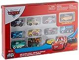 Disney Cars Pack de 10 Mini vehículos, Modelos Surtidos Pixar Cars (Mattel GKG08)