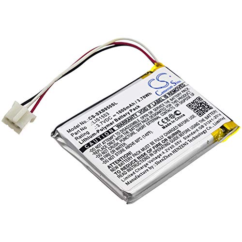 Replacement Battery for Sony MDR-XB950N1 LIS1553 LIS1553 SY6 WH-CH700N SRS-WS1