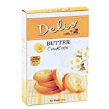 Delio Butter Cookies,Tasty and Sweet-scented 3.88 Oz.