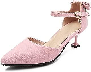BalaMasa Womens ASL06921 Pu Stiletto Heels