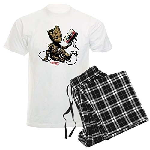 CafePress GOTG Groot Cassette Pajama Set