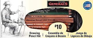 General Pencil Drawing Pencil Kit, 10 -Piece