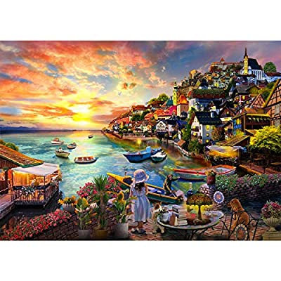 """Jigsaw Puzzles for Adults 1000 Piece Jigsaw Puzzles 1000 Pieces for Adults Teens Kids Jigsaw Puzzles (27.6""""x 19.7"""") by"""