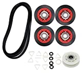 4392067RC 27-Inch Dryer Repair Kit Replacement 4392067VP Compatible with Whirlpool Ken-more,PS373088 AP3109602 Repair Kits Include 279640 Idler Pulley W10314173 Drum Roller 661570 Belt