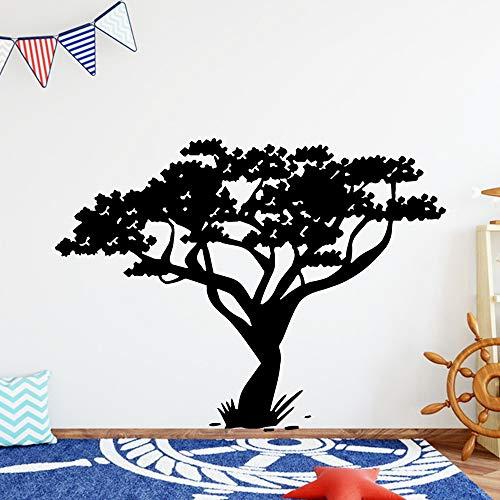 Tianpengyuanshuai Cartoon-Stil Baum Wandaufkleber Dekorationen wasserdichte Wandkunst Aufkleber 30X39cm