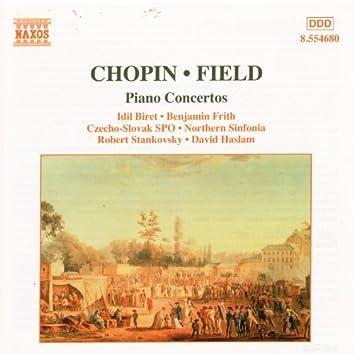 CHOPIN: Piano Concerto No. 2 / FIELD: Piano Concerto No. 1