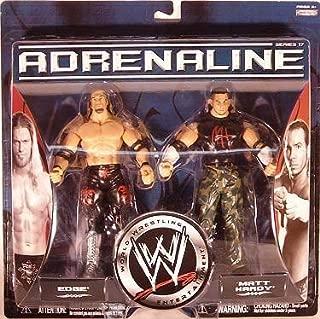 WWE Adrenaline Series 17 2-Pack Edge Vs. Matt Hardy