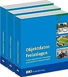 BKI Objektdaten Freianlagen F5 + F6 + F7: Kosten abgerechneter Freianlagen und statistische Kostenkennwerte