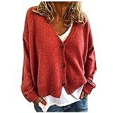 Women's Sweater Cardigan Knitwear Single-breasted Love Long Sleeve Tops