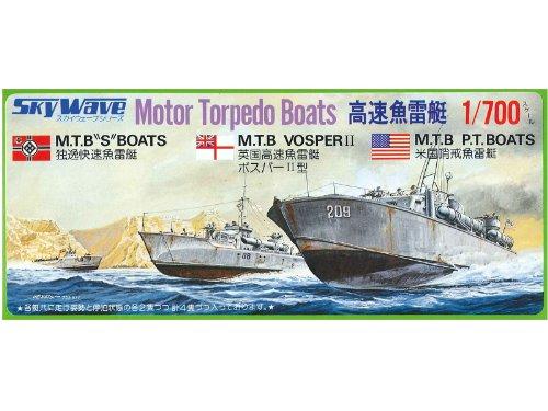 1/700 High-speed Torpedo Boat (Plastic model)