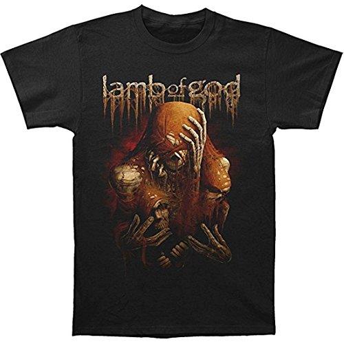 Global Design Concepts Lamb of God Triad Uomo Black T-Shirt