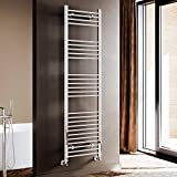 ELEGANT 1800 x 500mm Chrome Heated Towel Rail Designer Bathroom Radiator