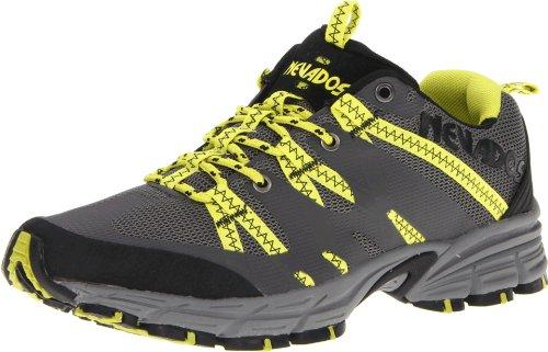 Nevados Men's Compass Low V7033M Trail Running Shoe,Black/Steel/Lime,12 M US