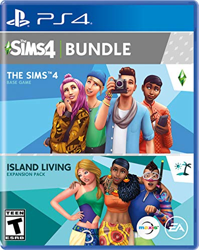 The Sims 4 Plus Island Living Bundle -...