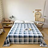 KLily Manta Simple para El Hogar Adecuada para Ropa De Cama De Dormitorio De Estudiantes, Manta para La Siesta, Manta con Aire Acondicionado, Lavable