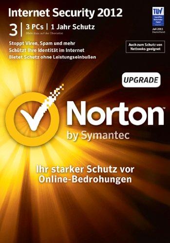Norton Internet Security 2012 - 3 PC - Upgrade - deutsch [import allemand]